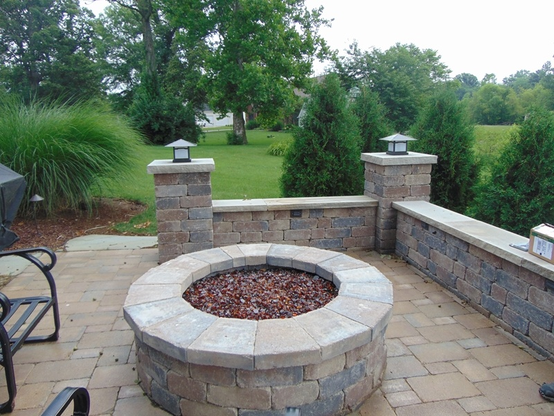 Paver Patios In Greenfield IN Hardscaping Services - Paver patios landscaping