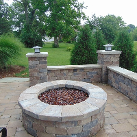 block retaining walls greenfield in
