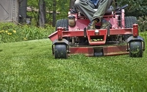 mowing greenfield in